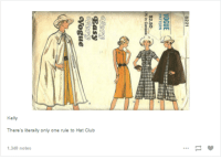 Kelly There's Literally Only One Rule to Hat Club 1340 Notes | Club