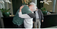 Philadelphia Eagles, Memes, and Breast Cancer: Kelly Thomas, an @Eagles fan fighting breast cancer, received a very special surprise from QB @NickFoles! @americancancer #SuperBowlSurprise #CrucialCatch (via @TODAYshow) https://t.co/k86h1qFH6N https://t.co/FMxzQhR3Jk