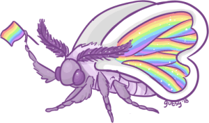 Tumblr, Blog, and Happy: kemono-kun: Happy Pride Moth!!!!!!!!!