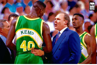 George Karl thought Shawn Kemp might be high during Sonics games. Teammate Frank Brickowski had a unique take BRmag [link in bio]: KEMP  hlr  MAG George Karl thought Shawn Kemp might be high during Sonics games. Teammate Frank Brickowski had a unique take BRmag [link in bio]