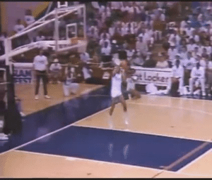 Ken Griffey Jr throwing down a reverse dunk in the Footlocker Slam Fest against Deion Sanders & the ridiculous Mike Conley Sr.   https://t.co/y2hWp5qFeG: Ken Griffey Jr throwing down a reverse dunk in the Footlocker Slam Fest against Deion Sanders & the ridiculous Mike Conley Sr.   https://t.co/y2hWp5qFeG