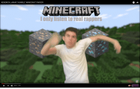 """minecraft parody: KENDRICK LAMAR """"HUMBLE"""" MINECRAFT PARODY  I only listen to real rappers  I 0:01 1:18"""