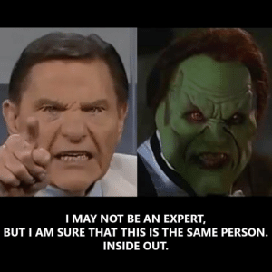Kenneth Copeland inside out.: Kenneth Copeland inside out.