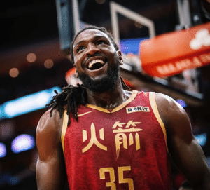 Kenneth Faried was benched, traded for cap space and waived in the past year.‬  ‪Since joining the Rockets:‬  ‪- 16 PPG, 9.9 REB (career-high paces)‬ ‪- Nine double-doubles in 14 games‬ ‪- More 3s than the rest of his career combined‬: Kenneth Faried was benched, traded for cap space and waived in the past year.‬  ‪Since joining the Rockets:‬  ‪- 16 PPG, 9.9 REB (career-high paces)‬ ‪- Nine double-doubles in 14 games‬ ‪- More 3s than the rest of his career combined‬