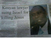 "Dogs, Empire, and Guns: Kenyan lawyer  suing Israel for  killing Jesus  AKINS AN taiya harindape itic i oft abandwat the tens At  nio Hague, Alggot  dou, gue,Ausitoung thirebeinal and . independ er, thewo  crucifix 00 of rests Chrit was unlaw- incorporated laws of the  ful,atid Lee sate efiner amatgethers Return Empire, thosen force  bould be heldropesbic.  at she Lime of the cnicias  Dola Indidis, a .wyer and fooner.  He ise challenging-the mode  poke person of the hero an judiciar, org est ring used during  Plepeesedly atioDptinglomootiha us Jens trial, prosecution, h  ciripenrofRmt: 42 BCE-37 aa ine and ietencuse: the form  otice03 ribbr/a><fection ork sh  of pinishment meted ont to  lders, King Herod, ise Republic eJTaiy ism while unlergomggudisial  of the.State of,tinier  proceedings and the substance.  ""Evidcrico toda-soareo rein the wrthr usformatin nsed to  Cola Indidis, a Kenyan lawyer  convict bin. ------------- gay trump hitler lgbt furry thicc meme sports altright antifa guns drumpf blackpower whitepower dogs doggos art nationalist throwcommiesoutofhelicopters"
