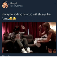 Cats, Dank, and Demi Lovato: Kenye  @kenyemess  lil wayne spilling his cup will always be  funny  0:04 Fuckers in school telling me Demi Lovato overdosed on this, Demi Lovato relapsed off that @larnite • ➫➫➫ Follow @Staggering for more funny posts daily! • (Ignore: memes dank funny cats insta love me goals happy ligmaballs)