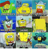 Memes, Jon Snow, and Snow: KEO  MEMES  THE  NIGHT KING JAIMEARYA The Jon Snow one 😂 https://t.co/EdxcFjCm6Q