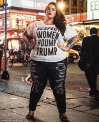 Instagram, Target, and Book: KESPEC  WOMEN  #00MP  TRUMP  Instagram tessholliday Plus-Size Model Tess Holliday on Fat Acceptance, Her First Book, and Her Rape