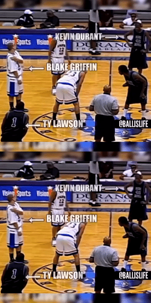 Kevin Durant vs Blake Griffin IN HIGH SCHOOL @KDTrey5 @blakegriffin23 https://t.co/uoq2aY87pz: Kevin Durant vs Blake Griffin IN HIGH SCHOOL @KDTrey5 @blakegriffin23 https://t.co/uoq2aY87pz