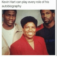 LMFAO: Kevin Hart can play every role of his  autobiography LMFAO