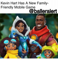 "Kevin Hart Has A New Family-Friendly Mobile Game - blogged by @baetoven_ ⠀⠀⠀⠀⠀⠀⠀ ⠀⠀⠀⠀⠀⠀⠀ KevinHart is continuing to expand his entertainment empire with a new mobile game. ""Gold Ambush With Kevin Hart"" features Hart, his wife, Eniko, and two children, Heaven and Hendrix. ⠀⠀⠀⠀⠀⠀⠀ ⠀⠀⠀⠀⠀⠀⠀ ""I'm making the game fun but I'm also making it family-friendly without forcing that down people's faces,"" he told Engadget. ""It's a game for everybody."" ⠀⠀⠀⠀⠀⠀⠀ ⠀⠀⠀⠀⠀⠀⠀ The game was made by StandUp Digital, a company that Hart has partnered with, who say inside jokes from Kevin's stand-ups will be included. It is also said to share similarities with Clash of Clans and Temple Run. ⠀⠀⠀⠀⠀⠀⠀ ⠀⠀⠀⠀⠀⠀⠀ Will you guys be playing?: Kevin Hart Has A New Family-  Friendly Mobile Game  @balleralert Kevin Hart Has A New Family-Friendly Mobile Game - blogged by @baetoven_ ⠀⠀⠀⠀⠀⠀⠀ ⠀⠀⠀⠀⠀⠀⠀ KevinHart is continuing to expand his entertainment empire with a new mobile game. ""Gold Ambush With Kevin Hart"" features Hart, his wife, Eniko, and two children, Heaven and Hendrix. ⠀⠀⠀⠀⠀⠀⠀ ⠀⠀⠀⠀⠀⠀⠀ ""I'm making the game fun but I'm also making it family-friendly without forcing that down people's faces,"" he told Engadget. ""It's a game for everybody."" ⠀⠀⠀⠀⠀⠀⠀ ⠀⠀⠀⠀⠀⠀⠀ The game was made by StandUp Digital, a company that Hart has partnered with, who say inside jokes from Kevin's stand-ups will be included. It is also said to share similarities with Clash of Clans and Temple Run. ⠀⠀⠀⠀⠀⠀⠀ ⠀⠀⠀⠀⠀⠀⠀ Will you guys be playing?"