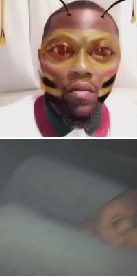 Kevin Hart took the bee filter to another level lol: Kevin Hart took the bee filter to another level lol
