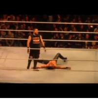 Kevin Owens and Seth Rollins having fun at house show.  - R1 -: Kevin Owens and Seth Rollins having fun at house show.  - R1 -