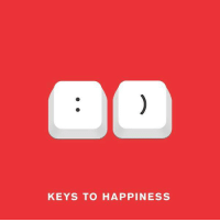 key: KEYS TO HAPPINESS