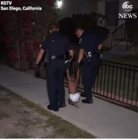 Family, Memes, and News: KGTV  San Diego, California  bc  NEWS rp @abcnews - Sweet video shows San Diego police officers playing with a lost toddler before they found his family and returned him home safely. toddler police policeofficer baby family sandiego @pmwhiphop