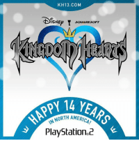 "Happy 14 years guys! Here in Europe (I'm Greek btw) we will officially celebrate the 14 years anniversary on 15th November though, but still!  Fun story. My birthday is November 14th. I was turning 12. When we went with my parents to the store to get me a game as a birthday gift, the clerk told us: ""You know, we're expecting a new game coming the 15th. It's Disney and Squaresoft. I think you will like it.""  Nothing there REALLY caught my eye, so I got a little grumpy, but since mom and dad promised that on the 15th i will surely have it, I told the clerk ok. So we ordered it, gave our names, etc. 15th was Thursday, so school day. I got back and my gift was there all wrapped up and pretty. I opened it and i looked at the box art. Donald...Goofy...It was very pretty. But I was a little cautious... Turning on my PS2 and putting the disc in, I started the magical journey. I turned it off 7 hours later, not because i wanted too, but because my mom insisted to do my homework. I finished it really quick, played for like 2 more hours and got to bed, really looking forward coming back from school tomorrow, having the weekend ahead to play to my heart's delight.  Now it's 2016, I'm turning 26 the 14th of November, I am an admin to a page called ""Kingdom Hearts Memes"" so yeah, I still  have Kingdom Hearts in a very special place in my heart. It combined a great game with Disney characters that i loved (still do), and now, whenever I play it, I have this great nostalgic feeling. I turn 12 again, laughing with Donald and Goofy, getting angry with Riku, and looking forward finding and reuniting with Kairi.  That is my story on how i got Kingdom Hearts. Tell us yours on the comment section below!!  ~Xigbar: KH13. COM  r  ISNE  SQUARE SOFT  HAPPY  AMERICAN  PlayStation 2 Happy 14 years guys! Here in Europe (I'm Greek btw) we will officially celebrate the 14 years anniversary on 15th November though, but still!  Fun story. My birthday is November 14th. I was turning 12. When we went with my parents to the store to get me a game as a birthday gift, the clerk told us: ""You know, we're expecting a new game coming the 15th. It's Disney and Squaresoft. I think you will like it.""  Nothing there REALLY caught my eye, so I got a little grumpy, but since mom and dad promised that on the 15th i will surely have it, I told the clerk ok. So we ordered it, gave our names, etc. 15th was Thursday, so school day. I got back and my gift was there all wrapped up and pretty. I opened it and i looked at the box art. Donald...Goofy...It was very pretty. But I was a little cautious... Turning on my PS2 and putting the disc in, I started the magical journey. I turned it off 7 hours later, not because i wanted too, but because my mom insisted to do my homework. I finished it really quick, played for like 2 more hours and got to bed, really looking forward coming back from school tomorrow, having the weekend ahead to play to my heart's delight.  Now it's 2016, I'm turning 26 the 14th of November, I am an admin to a page called ""Kingdom Hearts Memes"" so yeah, I still  have Kingdom Hearts in a very special place in my heart. It combined a great game with Disney characters that i loved (still do), and now, whenever I play it, I have this great nostalgic feeling. I turn 12 again, laughing with Donald and Goofy, getting angry with Riku, and looking forward finding and reuniting with Kairi.  That is my story on how i got Kingdom Hearts. Tell us yours on the comment section below!!  ~Xigbar"