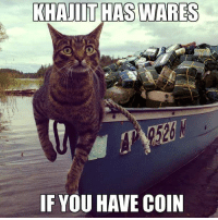 Khajiit Has Wares: KHAJIIT HAS WARES  526  F YOU HAVE COIN