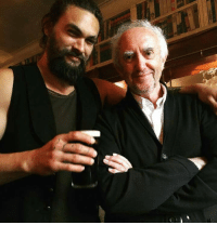 Khal Drogo hanging out with the High Sparrow. GameOfThrones: Khal Drogo hanging out with the High Sparrow. GameOfThrones
