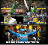 Rising pune supergiant's !: KHAWAJA 145  HANDSCOMB54  SMIT 59  IS 11  Cricket  Shots  SAHARA  WE ARE READY FOR THE IPL Rising pune supergiant's !