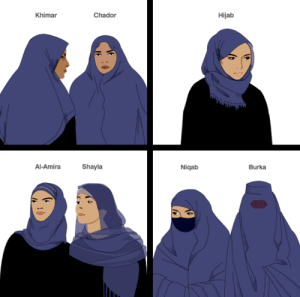 Tumblr, Yeah, and Blog: Khimar  Chador  Hijab  Al-AmiraShayla  Niqab  Burka 6thouseariesun:  rsf0908:  shinycrookedcrown:  This educated me so I'm sharing it  Yeah, me too.   I get mixed up at times so bless this post