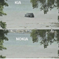 Memes, 🤖, and Kia: KIA  NOKIA https://t.co/OvjfU2p4SE