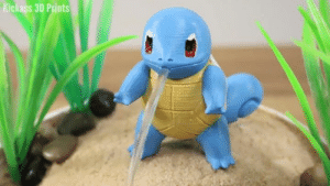 Dank, Water, and 🤖: Kickass 3D Prints 3D printed Squirtle water fountain! Who wants one? By Kickass 3D Prints