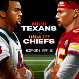 #Kickoff2020. @HoustonTexans vs. @Chiefs. Thursday, Sept. 10 on NBC. 🔥 https://t.co/rCMhmrgW2Z: #Kickoff2020. @HoustonTexans vs. @Chiefs. Thursday, Sept. 10 on NBC. 🔥 https://t.co/rCMhmrgW2Z