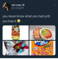 Cats, Crazy, and Dank: kid cody  @ codva13  you never know what you had until  you lose it  OSNACKS  Bi Them yogos was sumn crazy @larnite • ➫➫➫ Follow @Staggering for more funny posts daily! • (Ignore: memes dank funny cats insta love me goals happy ligmaballs love twitter)