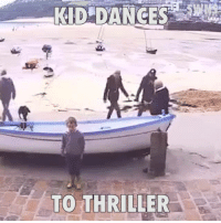 This lad pulled off an amazing Michael Jackson 'Thriller' dance routine filmed on a shop webcam...: KID DANCES  TO THRILLER This lad pulled off an amazing Michael Jackson 'Thriller' dance routine filmed on a shop webcam...