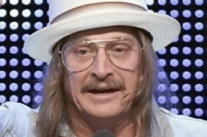 Kid Rock looks like if Dr. Phil dressed up as Kid Rock for Halloween.: Kid Rock looks like if Dr. Phil dressed up as Kid Rock for Halloween.