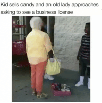 Smdh let the kid sell his gmo candy bars in peace - She is broken and lost on the inside and wants to bring everyone else down with her. Misery loves company, keeping shining young man.: Kid sells candy and an old lady approaches  asking to see a business license Smdh let the kid sell his gmo candy bars in peace - She is broken and lost on the inside and wants to bring everyone else down with her. Misery loves company, keeping shining young man.
