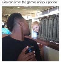 Daquan, Memes, and Phone: Kids can smell the games on your phone Hahahah (@daquan)