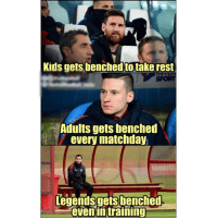 Henrikh Mkhitaryan 😂: Kids gets benched to take rest  SPORT  Adults gets benched  every matchday  Legends gets!benched.  even intraining Henrikh Mkhitaryan 😂
