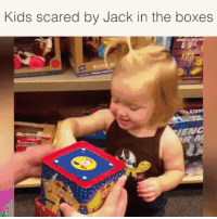 Kids getting Scarred for Life: Kids scared by Jack in the boxes  ENC Kids getting Scarred for Life