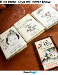 So sad!: Kids these days will never know.  where  ohl  STORIES  nning  Atic  Retok  and from Folklore Collected Vin Gan  by Stephen Drawings TalentAk  Explore So sad!