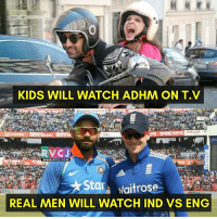 India Vs England! rvcjinsta indian india cricket: KIDS WILL WATCH ADHM ON T.V  RALCO  GGIONEE  www.RVCJ.COM  Sta  Naitrose  REAL MEN WILL  WATCH IND VS ENG India Vs England! rvcjinsta indian india cricket
