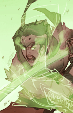 Tumblr, Blog, and Http: kikissh:  and then they drew genji screaming