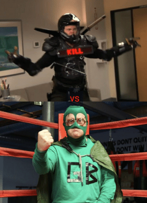 Alter egos Collide,Recyclops vs The Green Bastard who wins?: KILL  VS  S DONT QUIT  DONT WIN Alter egos Collide,Recyclops vs The Green Bastard who wins?