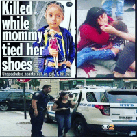 """Family, Laundry, and Memes: Killed  while  mommy  tied her  shoes  12  Unspeakable heartbreak as girl,4, hit by  T DAST 5542  NKPD  OS 72  2 For just a second imagine this was your child , your sister , granddaughter.. The women who is responsible MUST face the police and be treated as anyone one else would , forget about hiding behind the badge of a family member , we will no go away or be silenced until this tragedy is dealt with by law  #Repost @puppettattoos ・・・ 🙏🏼🌷""""Please Read and Share""""🌷🙏🏼 4-year-old Luz Gonzales was hit by a 2018 Nissan Rogue outside the Clean City Laundry Center parking lot, by a driver who sped away after the crash and told police she didn't realize what had happened, according to police and reports Brooklyn Paper. Luz Gonzalez was aboard her scooter at when she and her mother were passing the sidewalk near the business. The driver backed out onto the pedestrian walkway, hitting both the mom and daughter. The car noticeably bounces as she runs over the child and left the scene without even helping the 2 victims rush them to the hospital. Unfortunately cops, who caught up with the motorist about a block away from the deadly hit-and-run, likely will not arrest her, a spokesman said. """"There are no arrests, there likely will not be, because there's no evidence or probable cause to arrest her,"""" Police Department spokesman Sergeant Jones said on Monday afternoon. """"No one is in custody.""""👀👉🏼👮🏼♀️ Just because her family member is a Sergeant in the NYPD she's not gonna get arrested,what kind of fucked up world are we living in? Now they're treating Luz Gonzales family,saying that if they don't drop the charges they're going to call ICE on them to get them deported,that's fucked up,let's make this go viral and share this please!!! Rest In Peace 🙏🏼😇🌷""""Luz Gonzales """"🙏🏼😇🌷 We need Justice for her too! 💸🙏🏼Please be humans and let's help by making a donation to her family,cause they're are going through hard times right now,here's the bottom link www.gofundm"""