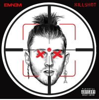 "Eminem, Mgk, and Content: KILLSHOT  PARENTA L  ADVISORY  EXPLICIT CONTENT Eminem released a response to MGK called ""KILLSHOT""...how's it sounding 🔥or 💩? @Eminem https://t.co/SMC4iU9dg1"