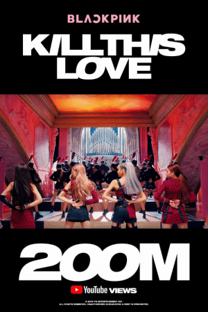 blinkzona:  BLACKPINK ARE NOW THE FASTEST KPOP GROUP TO SURPASS 200 MILLION VIEWS IN JUS 11 DAYS, BREAKING THEIR PREVIOUS RECORD OF 33 DAYS WITH DDU-DU-DDU-DU: KILLTHS  LOVE  YouTube vIEWS  0 2012 THORIZSD DUPLIGATION &REHI  ENTERTAINMENT INC.  ALL RIOHTS RESERVED. UNAUTHORIZED DUPLICATION& RENT IS PROHIBITED blinkzona:  BLACKPINK ARE NOW THE FASTEST KPOP GROUP TO SURPASS 200 MILLION VIEWS IN JUS 11 DAYS, BREAKING THEIR PREVIOUS RECORD OF 33 DAYS WITH DDU-DU-DDU-DU