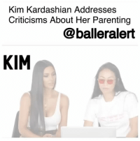 "Kim Kardashian Addresses Criticisms About Her Parenting – blogged by @MsJennyb ⠀⠀⠀⠀⠀⠀⠀⠀⠀ On Thursday, KimKardashian addressed online spectators who were concerned about the way she has been parenting her two children, North and Saint West. In a recent online attack, mommy shamers called out Kardashian for putting her 20-month-old son in a front-facing car seat. But, Kardashian fired back with facts in a video on her website, saying ""Saint is now the weight and height requirement to sit forward-facing."" ⠀⠀⠀⠀⠀⠀⠀⠀⠀ ""Saint actually weighs more than North, if that is believable,"" she added, clarifying claims that toddlers should remain in rear-facing car seats until the age of 2, or until they are at least 40 inches tall and weighs at least 40 lbs. ⠀⠀⠀⠀⠀⠀⠀⠀⠀ Kardashian went on to discuss the claims that she has ""obsessive plans"" to expand her daughter's empire. ⠀⠀⠀⠀⠀⠀⠀⠀⠀ ""I love her experiencing my life and what goes on. But I also love her having such a childhood life,"" Kardashian said in the same video. ""Whatever she wants to do I'll support that. No matter what it is."": Kim Kardashian Addresses  Criticisms About Her Parenting  @balleralert  KIM Kim Kardashian Addresses Criticisms About Her Parenting – blogged by @MsJennyb ⠀⠀⠀⠀⠀⠀⠀⠀⠀ On Thursday, KimKardashian addressed online spectators who were concerned about the way she has been parenting her two children, North and Saint West. In a recent online attack, mommy shamers called out Kardashian for putting her 20-month-old son in a front-facing car seat. But, Kardashian fired back with facts in a video on her website, saying ""Saint is now the weight and height requirement to sit forward-facing."" ⠀⠀⠀⠀⠀⠀⠀⠀⠀ ""Saint actually weighs more than North, if that is believable,"" she added, clarifying claims that toddlers should remain in rear-facing car seats until the age of 2, or until they are at least 40 inches tall and weighs at least 40 lbs. ⠀⠀⠀⠀⠀⠀⠀⠀⠀ Kardashian went on to discuss the claims that she has ""obsessive plans"" to expand her daughter's empire. ⠀⠀⠀⠀⠀⠀⠀⠀⠀ ""I love her experiencing my life and what goes on. But I also love her having such a childhood life,"" Kardashian said in the same video. ""Whatever she wants to do I'll support that. No matter what it is."""