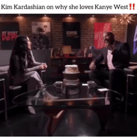 Friends, Kanye, and Kim Kardashian: Kim Kardashian on why she loves Kanye West!! kimkardashian sat down with @vanjones68 and basically said she appreciated kanyewest holding her down. Would yo hold down your wifey if she dropped a sex tape before you⁉️comment ⬇️ Follow @bars for more ➡️ DM 5 FRIENDS