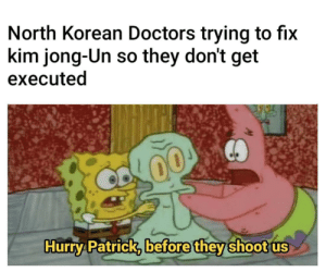 Kims doctors trying not to get executed: Kims doctors trying not to get executed