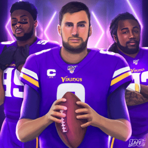 .@Vikings advance to the Divisional Round. https://t.co/N456mQ0mda: KIN  VIKINGS  NES!  VIKINGS  NFL .@Vikings advance to the Divisional Round. https://t.co/N456mQ0mda