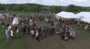 "kineticpenguin: tenthcorner:  supapoopa:  peterfromtexas:    Reenactor throws a spear at a drone    What a time to be alive.  ""The medieval warrior, realizing the consequences of his impulsive act, immediately approached the owner of the drone and offered to pay for the damage. The owner of the drone was so impressed by the brilliant attack that he suggested organizing a competition for bringing down ""dragons"" with short spears next year. Drone owners have another year to develop a unique ""dragon-like"" design for their flying machines."" (x)  I am 100% cooler with this knowing that the spear-thrower realized ""oops maybe I shouldn't have done that"" and tried to make it right, and that the guy who the drone belonged to was cool with it : kineticpenguin: tenthcorner:  supapoopa:  peterfromtexas:    Reenactor throws a spear at a drone    What a time to be alive.  ""The medieval warrior, realizing the consequences of his impulsive act, immediately approached the owner of the drone and offered to pay for the damage. The owner of the drone was so impressed by the brilliant attack that he suggested organizing a competition for bringing down ""dragons"" with short spears next year. Drone owners have another year to develop a unique ""dragon-like"" design for their flying machines."" (x)  I am 100% cooler with this knowing that the spear-thrower realized ""oops maybe I shouldn't have done that"" and tried to make it right, and that the guy who the drone belonged to was cool with it"