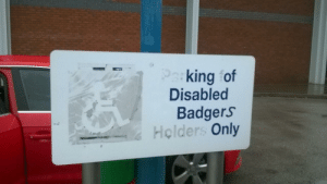 Dank, Memes, and Target: king of  Disabled  Badgers  Holders Only meirl by Jefferncfc MORE MEMES