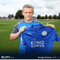 Memes, Power, and 🤖: KING  POWER  LCFC.com  George Thomas l LeicesterCity confirm the signing of Coventry City youngster George Thomas on a three-year deal. - transferrumour transfernews transfertalk transfers transfer