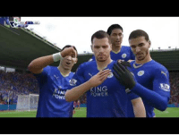Fifa, Funny, and Target: KING  POWER  Ow  WE FIFA 16 - Top Plays  Funny Moments (Xbox Live Captures) https://www.youtube.com/watch?v=_44P-Nklz3gt=25s  Some old clips from FIFA 16 that I put together. Appreciate it if anyone wants to give it a watch :)
