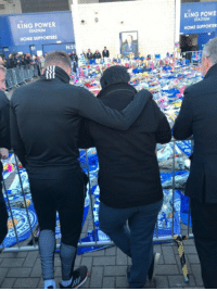 Memes, Home, and Power: KING POWER  STADIUM  KING POWE  STADIUM  HOME SUPPORTERS  HOME SUPPORTER  51 Jamie Vardy and son of Vichai Srivaddhanaprabha, very powerful photo. 💔 https://t.co/PQB1Vd7iEr